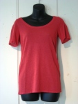 Catherine Andre MINO T-SHIRT, Size M, Color ROUGE (84% viscosse 16% polyamide) Price: $180 (20% OFF!)