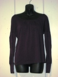 Catherine Andre MILA BLOUSE, Size L, VIOLET, (90% Laine, 10% Polyamide) Price: $127.00 (40% OFF!)